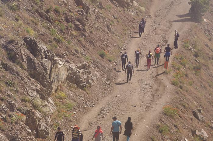 حاشیه های مسابقات کشوری دوی کوهستان توچال، خرداد ۹۵